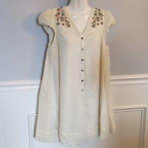 Anthropologie Meadow Rue babydoll dress